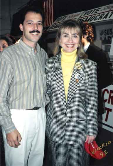 1992 Picture of Hillary Clinton, El Paso, Texas