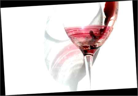 Photo of a Wine Glass - Los Angeles, California - 2008