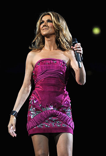 Celine Dion Taking Chances Tour Song List