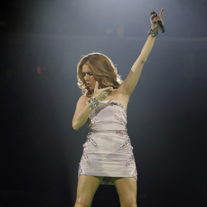 Celine Dion Taking Chances Tour, courtesy of LATimes.com