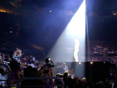 Celine Dion Taking Chances Tour at Staples Center, December 2, 2008