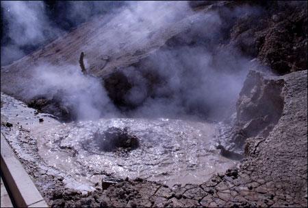 Lassen Park's Boiling Mud Pots