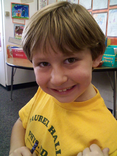 Bobby, Age 6