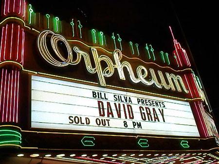 Bill Silva Presents David Gray - Los Angeles